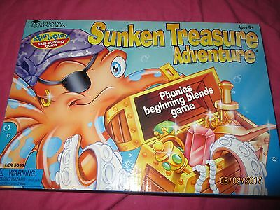 Learning Resources - Sunken Treasure Adventure - Phonics Beginning Blends Game