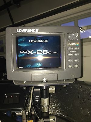 Lowrance LCX - 28C HD GPS Chartplotter / Fishfinder
