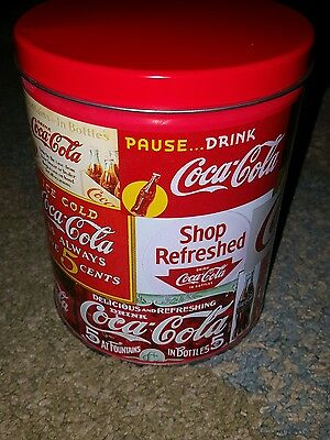 Coke Cola Puzzle in Tin Can