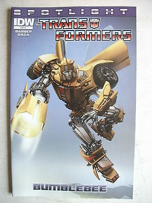 Transformers Spotlight: Bumblebee (First Print, R1 Incentive Variant), Vf+