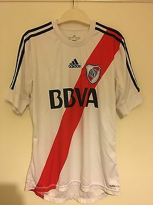 Adidas Primera Division CA River Plate 2012/13 Home Shirt - Men's Medium