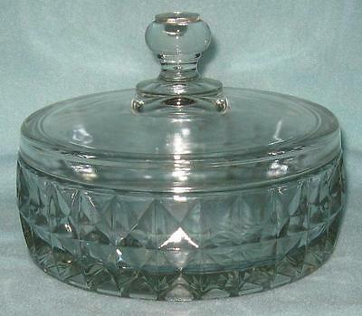 Jeannette Windsor Diamond Candy Dish with Lid
