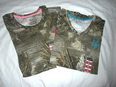 6879ab05 REALTREE MAX-1 XT Camo LADIES T Shirts - You Pick - Hunting Shirts ...