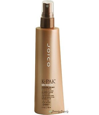 Joico K-Pak Sun Therapy Protective Sun Milk to Prevent Sun Damage 5.1 oz