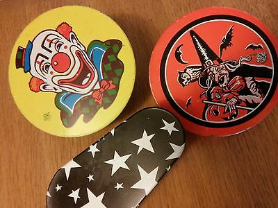 Vintage noise makers incl. Halloween