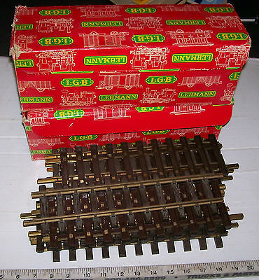 24  LGB Brass Straight Garden Railroad G Garden Railroad Track # 1000  24ft & OB