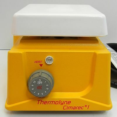 """BARNSTEAD / THERMOLYNE CIMAREC 1  120V 4"""" X 4"""" Hot Plate HP46515 1000°F   TESTED"""