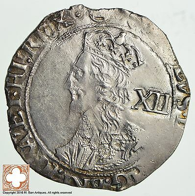 ND Great Britain Charles I Shilling *460
