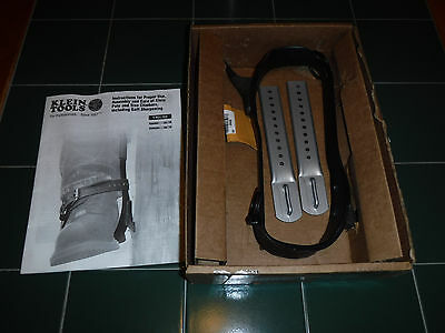 "New Klein 1907Ar Tree Climbers With 2-3/4"" Gaffs Without Pads & Straps"