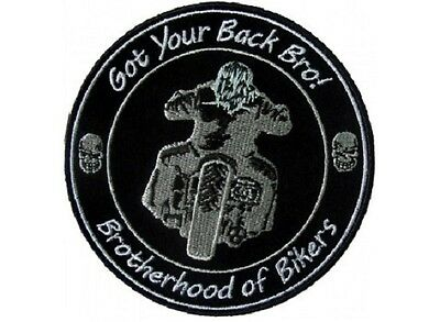 Got Your Back Bro Brotherhood Of Bikers Patch