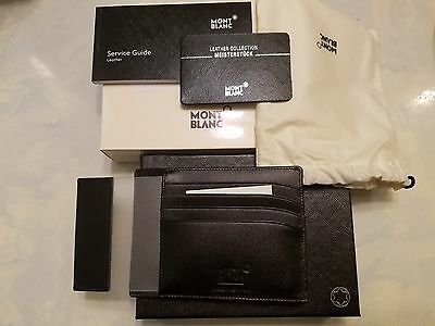 NEW Montblanc Meisterstück Pocket with ID Card Holder 2665
