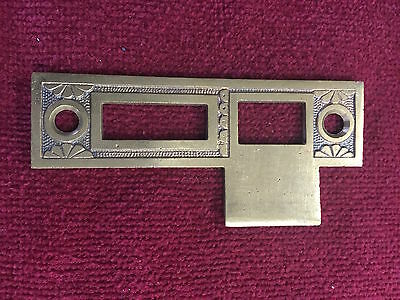 Antique Strike Plate Interior Mortise Lock
