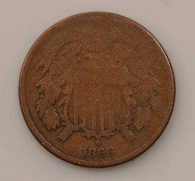 1866 Two-Cent Piece *Q58
