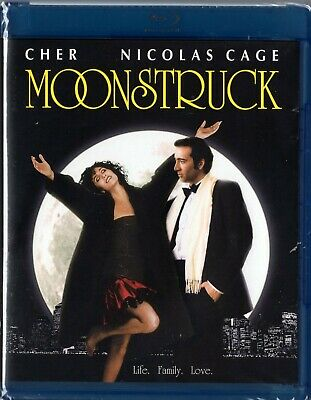 Moonstruck (Blu-ray Disc, 2011) Nicolas Cage, Cher    BRAND NEW