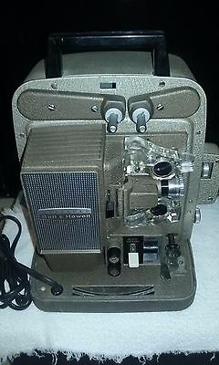 VINTAGE AUTOLOAD BELL & HOWELL 8mm MODEL 266A  MOVIE PROJECTOR for parts