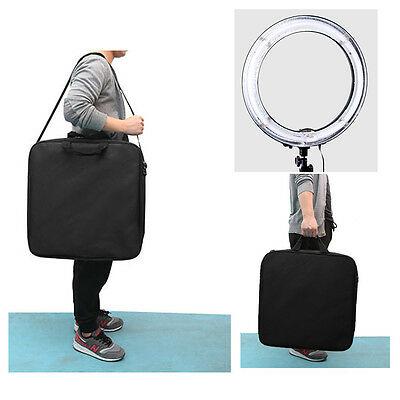 """19"""" Fluorescent 75W 5500K Dimmable Ring Light w/ Bag Camera Photo Video Studio"""