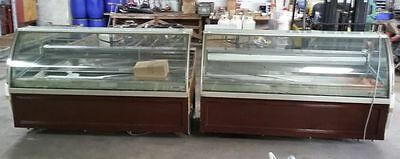 Oscartielle Orion Display Case Freezer Gelato Ice Cream Dipping Showcase Cabinet
