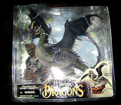 ETERNAL CLAN 4 McFarlane's Dragon Figure Series 4 The Fall Of The Kingdom