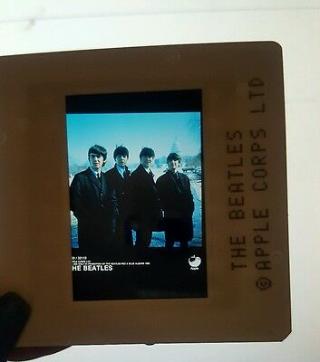 Beatles Transparency Slide Negative Capitol Records Promo Photo