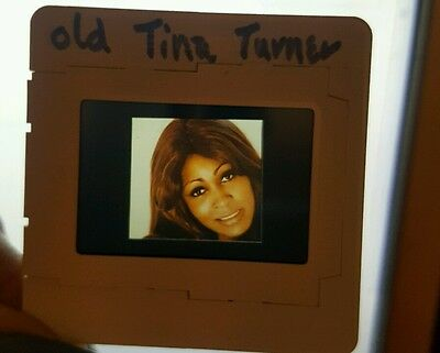 Tina Turner Transparency Slide Negative Promo Photo