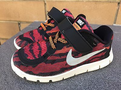Nike Free 5.0 Shoes Runners Sneakers Size US 8C UK 7.5 EUR 25 14cm Boys Girls