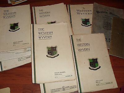 THE WESTERN WYVERN ANNUALS 1930s / 40s
