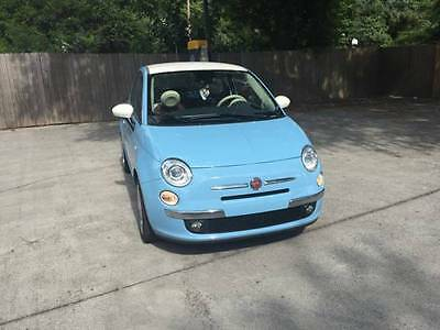"2014 Fiat 500 500 Lounge 1957 Version Like new! 2014 Fiat 500 Lounge ""1957"" Model. 10k miles! Heated leather seats!"