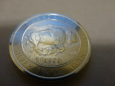 2015 1.25 oz * dollar Silver Canadian Bison Coin