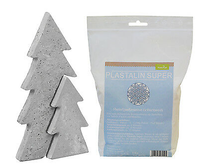 Casting mould Christmas tree large 14x29cm with Plast alin 1000g