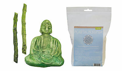 Casting mould Buddha with Bamboo with Plast alin 1000g