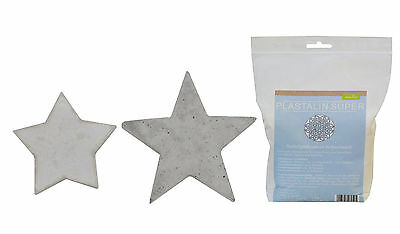 Casting mould Stars 9 + 12cm with Plast alin 1000g
