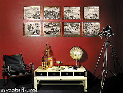 Wall Map of 1694 Venice Italy Portfolio by Authentic Models MC816