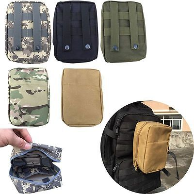 Waterproof Tactical Medical Military First Aid Molle Nylon Sling Pouch Bags Case