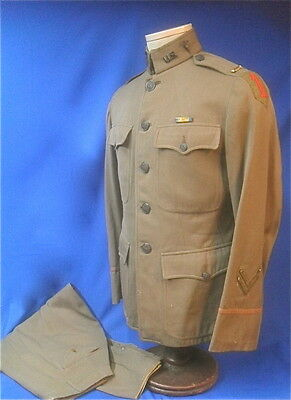 WW1 US Army 1st Division Medical Officer's Uniform