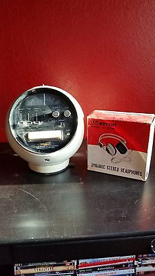 Vintage Weltron Model 2001 Space Ball And Vintage Weltron Model 37-001W