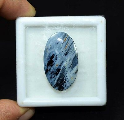 14.45 Cts. 100 % Natural Chatoyant Pietersite Oval Cabochon Untreated Loose Gems