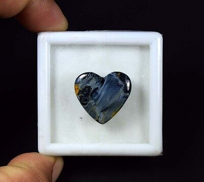 16.05 Cts. 100 % Natural Chatoyant Pietersite Heart Cabochon Loose Gemstones