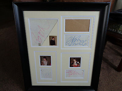 The Who Autographs Germany April 1967 +  Backstage Photos..a Great Set