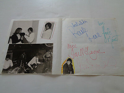 The Small Faces Autograph Pages + Candid Photos Germany Circa 1967