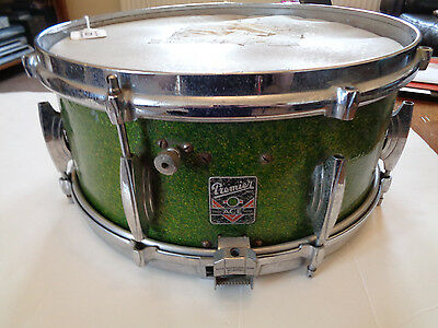 Jimi Hendrix Experience Equipment/ Mitch Mitchell Premier Ace Green Snare Drum
