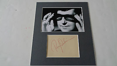 Roy Orbison Autograph/ Signed Circa 1965  Real/roger Epperson