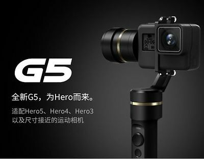 Feiyu G5 3-Axis Handheld Gimbal Action Camera Stabilizer Splash-Proof for GoPro