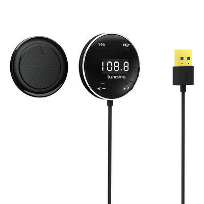 Lumsing GB01 Hands free Bluetooth Car Kit with LCD Screen FM Transmitter