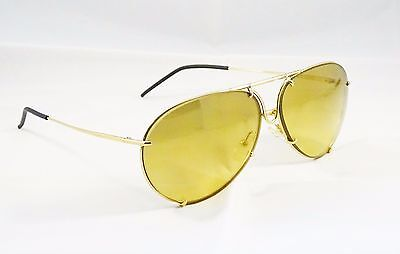 occhiali da sole vintage Porsche Design originali 8433 gold sunglasses eyewear