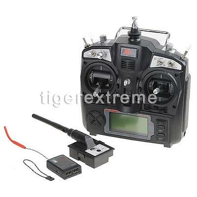 FS-TH9X 2.4Ghz 9CH Transmitter w/8CH receiver for R/C Plane US LOCAL SHIP