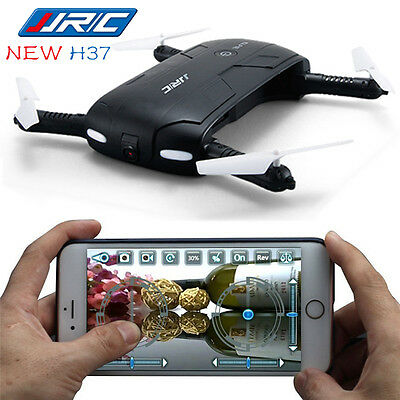 JRC H37 FPV Quadcopter Altitude Hold+HD Camera WIFI RC Drone Selfie Foldable