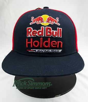 NEW Red Bull Holden Racing Team 2017 Flat Peak Cap - Youth