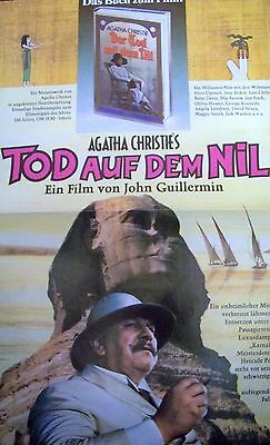 Set + Agatha Christie + Death On The Nile + Peter Ustinov + Ger 1-Sh + 18 Lc +