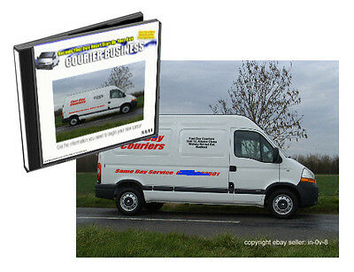 Start Up A Man & Van Delivery Service /  Courier Business