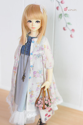 Outfit for MSD FoxyBrowny U-noa The summer forest set.